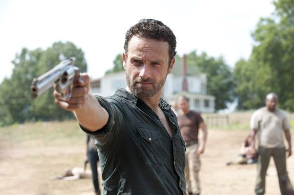 The Walking Dead: Andrew Lincoln in una scena dell'episodio Muore la speranza