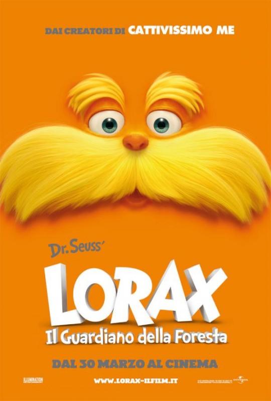 Ecco la locandina italiana di Lorax - Il guardiano della foresta