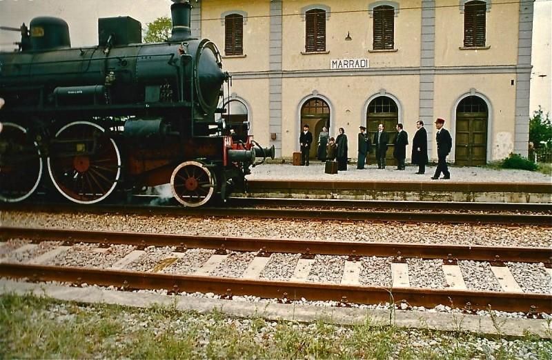 Il più lungo giorno: scenografia della stazione di Marradi realizzata da Giuseppe Pirrotta