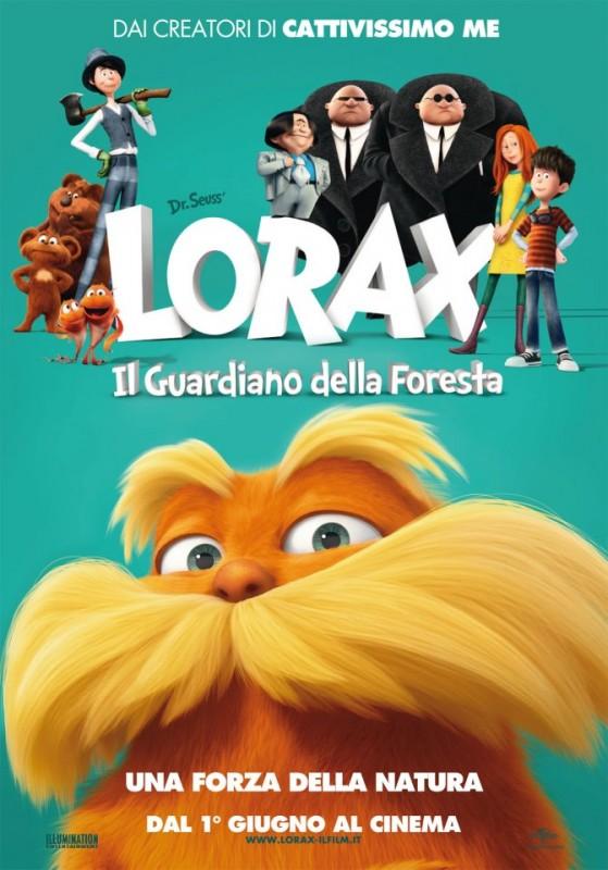 Lorax - Il guardiano della foresta: la locandina italiana del film