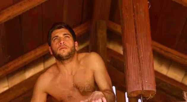 Vito Mancini: una immagine a torso nudo