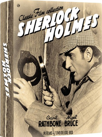 La copertina di Sherlock Holmes - Classic Film Collection (dvd)