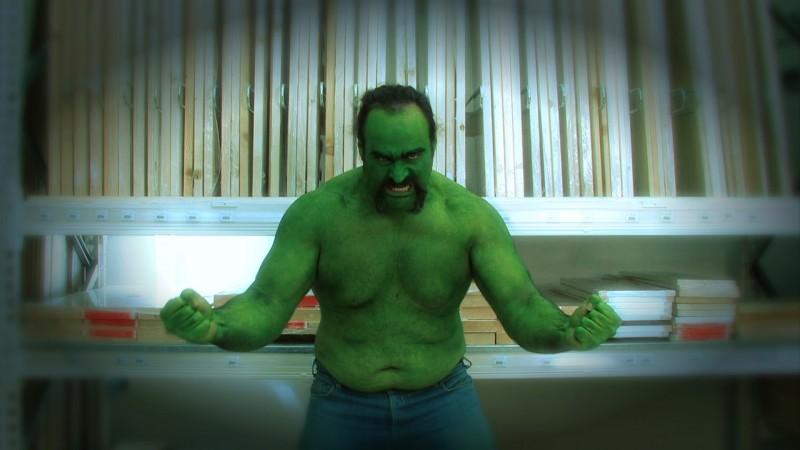 Capitan Basilico 2: Hulk è leggermente fuori forma...