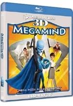 La copertina di Megamind 3D (blu-ray)