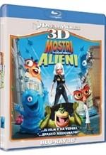 La copertina di Mostri contro Alieni 3D (blu-ray)