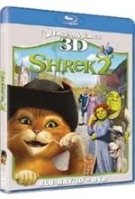 La copertina di Shrek 2 3D (blu-ray)