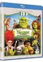 La copertina di Shrek e vissero felici e contenti 3D (blu-ray)