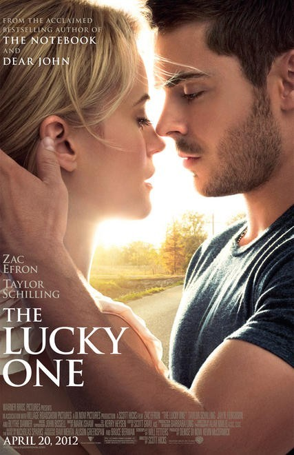 The Lucky One: primo poster USA