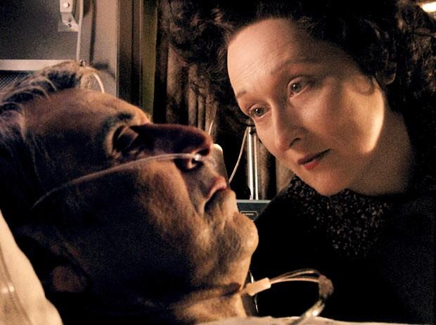 Meryl Streep e Al Pacino in Angels in America