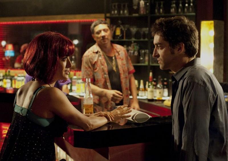 Salma Hayek con Mathieu Demy nel film Americano