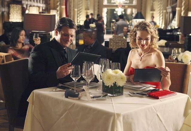 Castle: Kristin Lehman e Nathan Fillion nell'episodio Eye of the Beholder