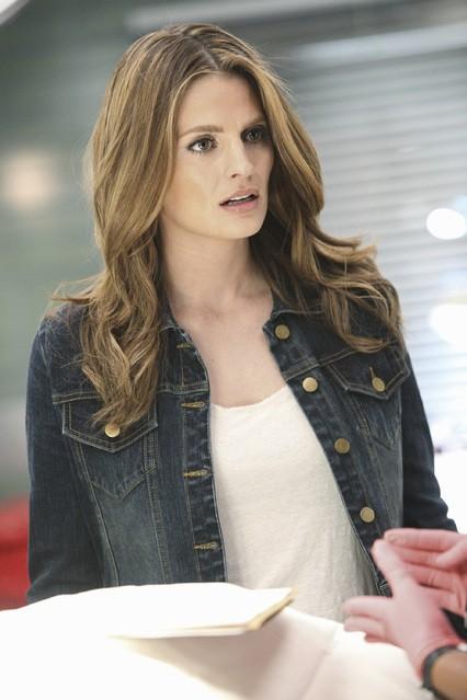 Castle: Stana Katic nell'episodio Head Case