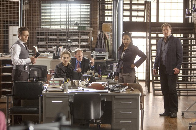 Castle: una scena dell'episodio Kill Shot