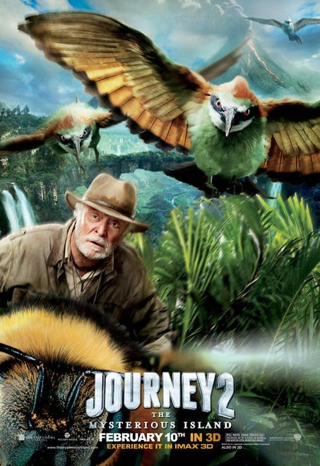 Journey 2: The Mysterious Island: Character Poster per Michael Caine