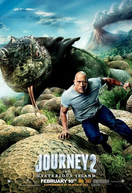 Journey 2: The Mysterious Island: Character Poster per The Rock