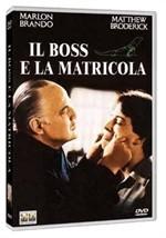 La copertina di Il boss e la matricola (dvd)