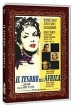 La copertina di Il tesoro dell'Africa (dvd)