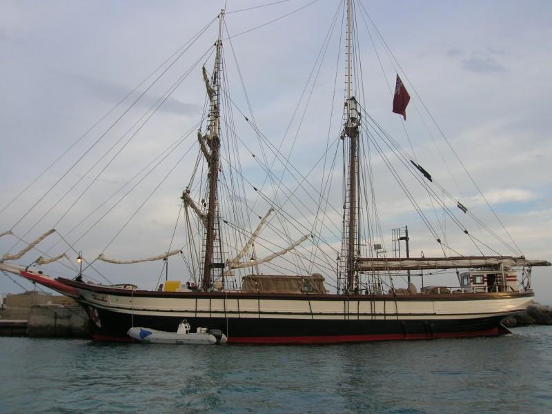 La Duchessa di Langeais - la  scenografia della nave realizzata da G. Pirrotta.