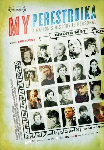 My Perestroika: la locandina del film