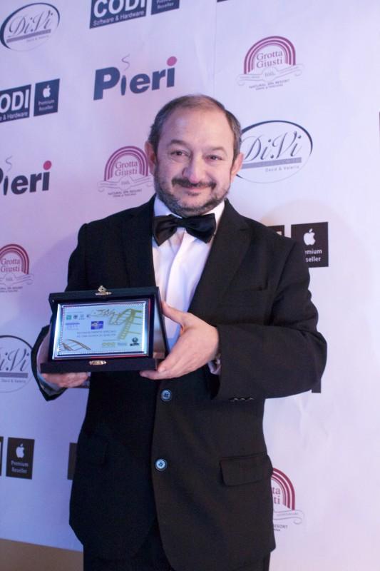 Orfeo Orlando premiato al Pistoia Corto Film Festival per il ruolo in Krokodyke
