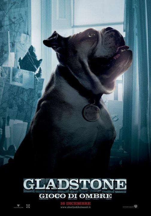 Sherlock Holmes: Gioco di ombre - Character poster per il cane Gladstone