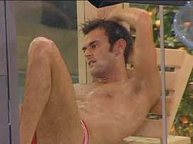 Grande Fratello 12: Filippo in sauna