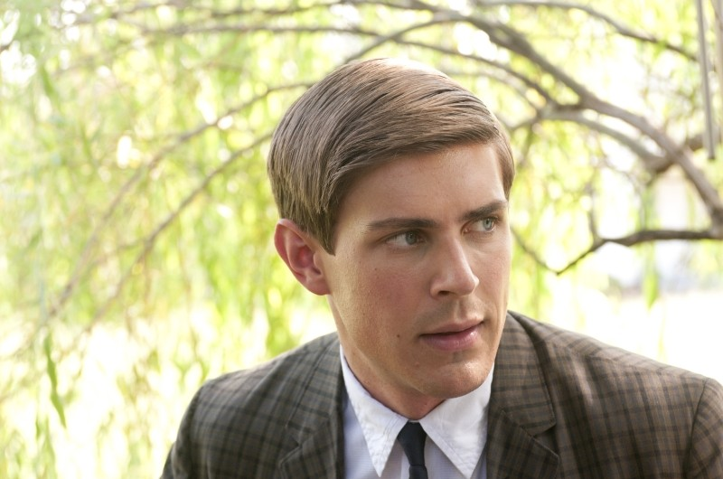 Chris Lowell in un'immagine del film The Help