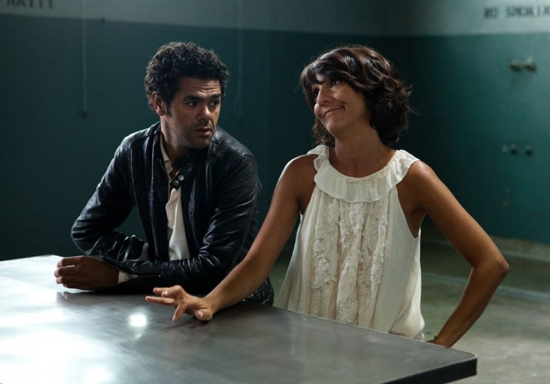 Hollywoo: Jamel Debbouze con Florence Foresti in una scena del film