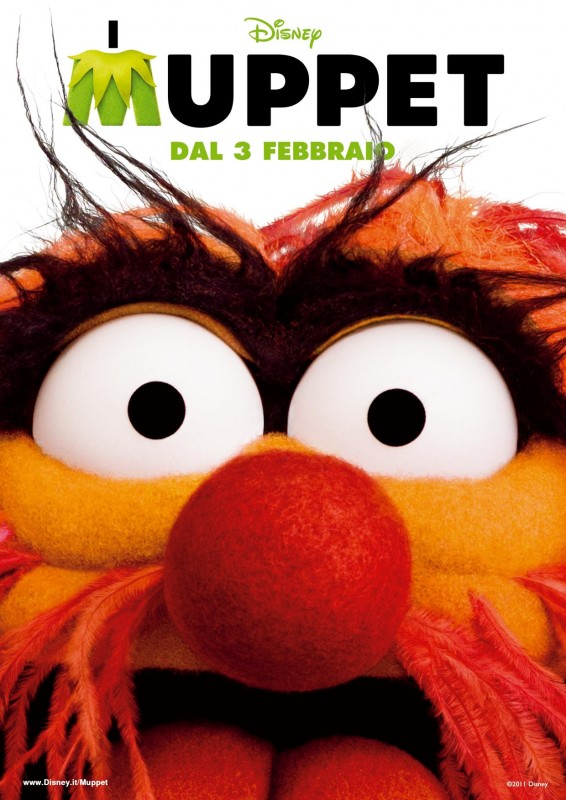 I Muppet: il character poster italiano con Animal