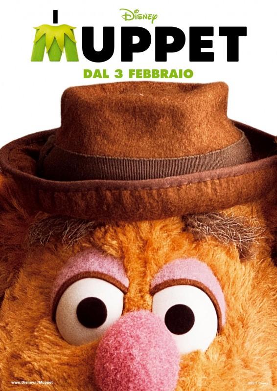 I Muppet: il character poster italiano di Fozzie
