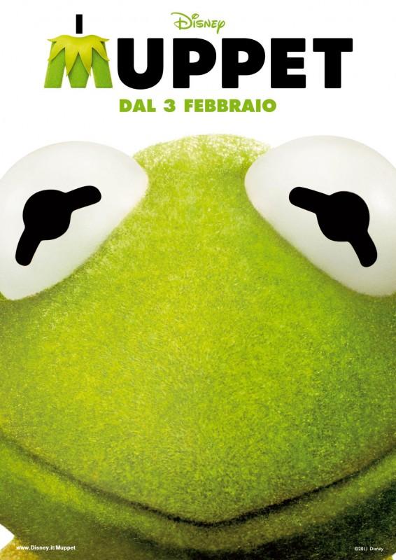 I Muppet: il character poster italiano di Kermit