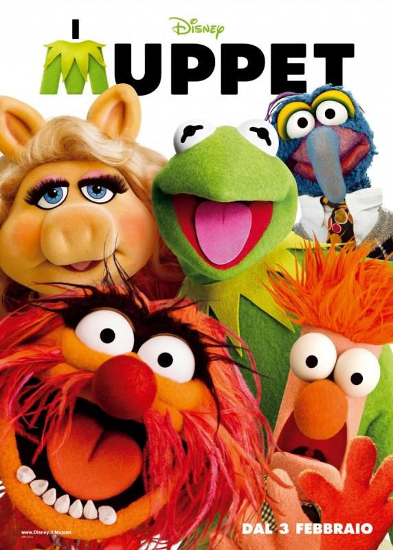 I Muppet: la locandina italiana del film