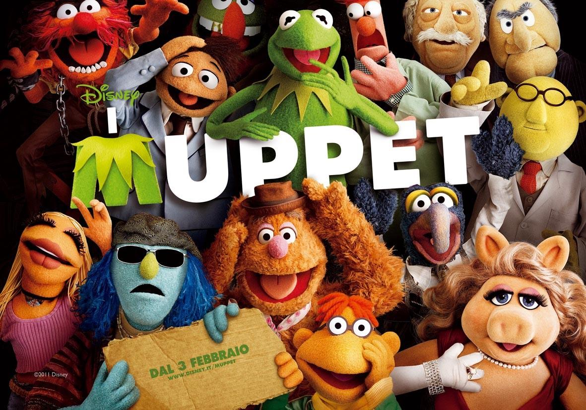 I Muppet: un wallpaper italiano del film