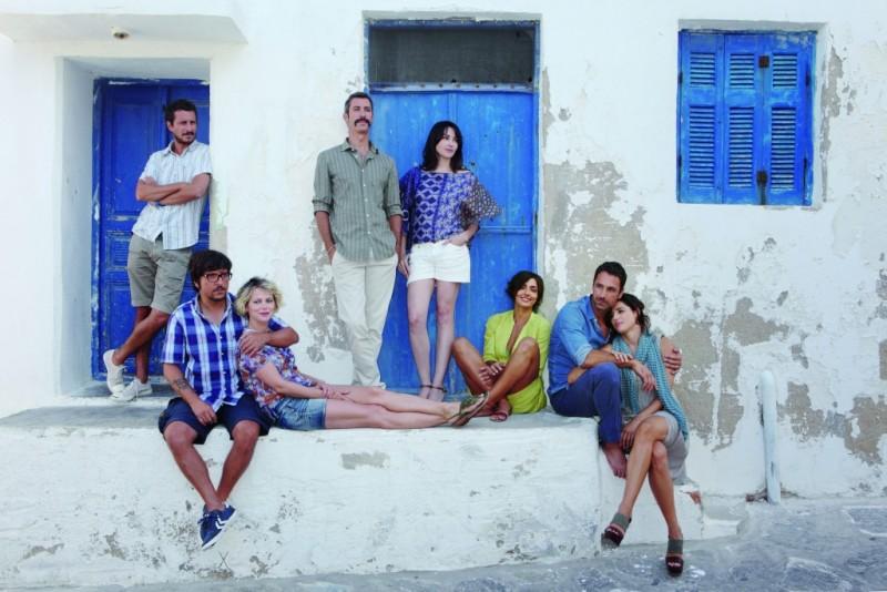 Il cast del film Immaturi - Il viaggio in una foto promozionale del film