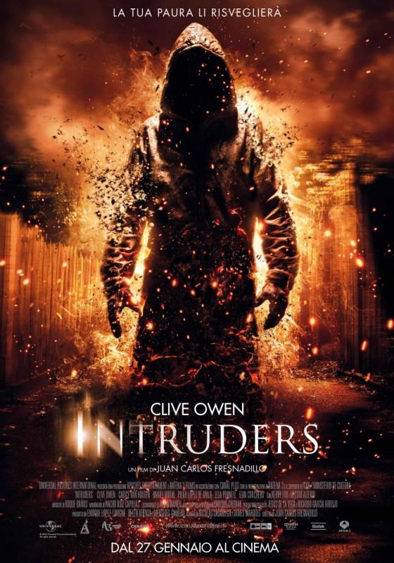 Intruders: la locandina italiana del film