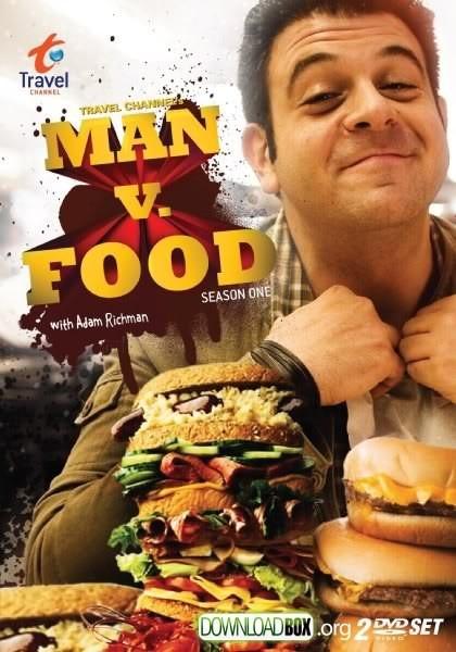 La locandina di Man vs Food - Diario di un carnivoro