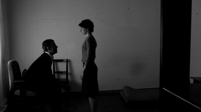 Luciano Levrone e Simona Rossi in una scena del film drammatico Penultimo Paesaggio