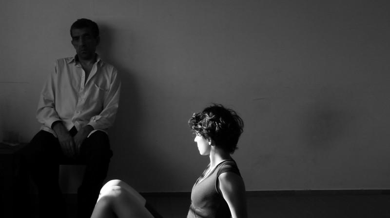 Luciano Levrone e Simona Rossi in una scena del film Penultimo Paesaggio