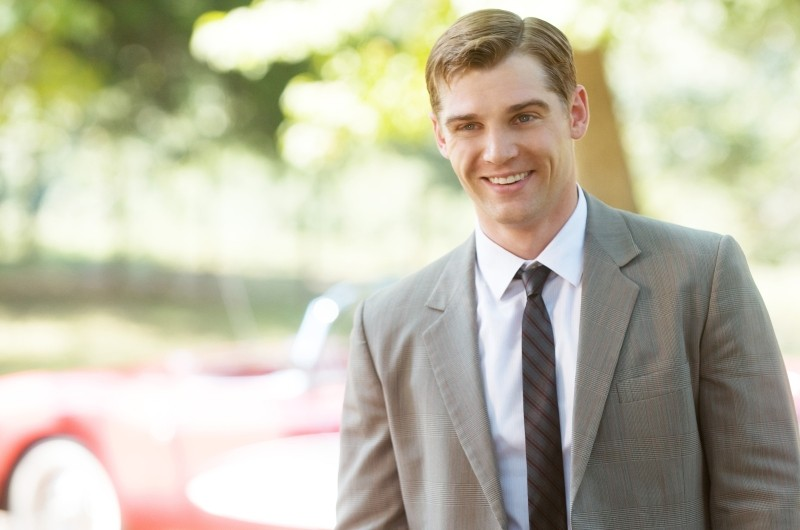 Mike Vogel sorride in una scena di The Help