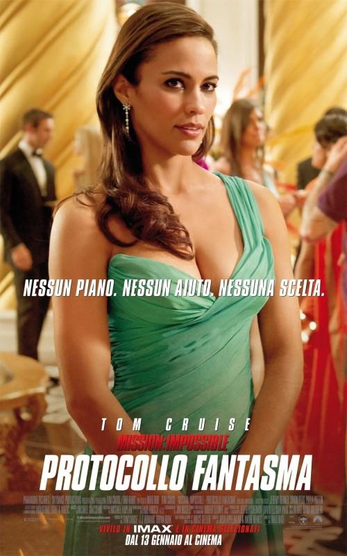 Mission: Impossible - Protocollo Fantasma, il character poster italiano del film con Paula Patton