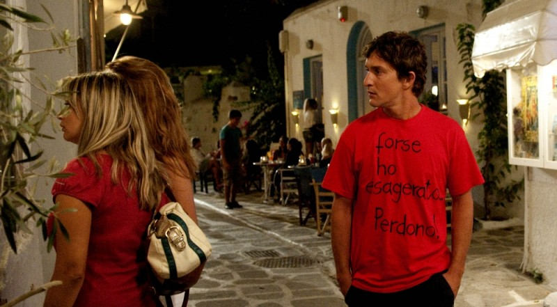 Alessandro Tiberi in una scena della commedia Immaturi - Il viaggio