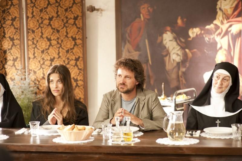 Ariadna Romero e Leonardo Pieraccioni in una scena di Finalmente la felicità