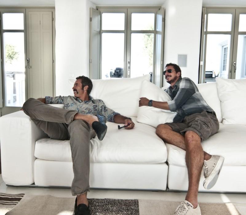Luca Bizzarri e Paolo Kessisoglu in una scena della commedia Immaturi - Il viaggio