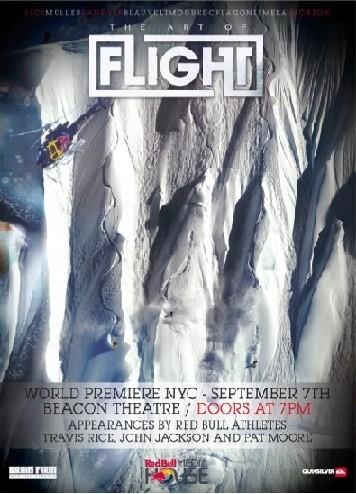 The Art of Flight: la locandina del film