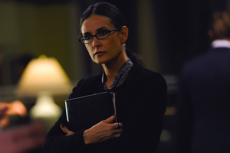 Demi Moore in una scena del thriller Margin Call