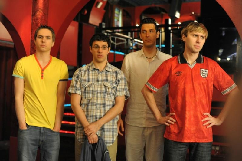 James Buckley, Simon Bird, Joe Thomas e Blake Harrison sono Finalmente maggiorenni