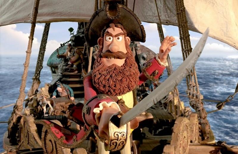 Pirati! Briganti da strapazzo: un'immagine tratta dal film d'animazione