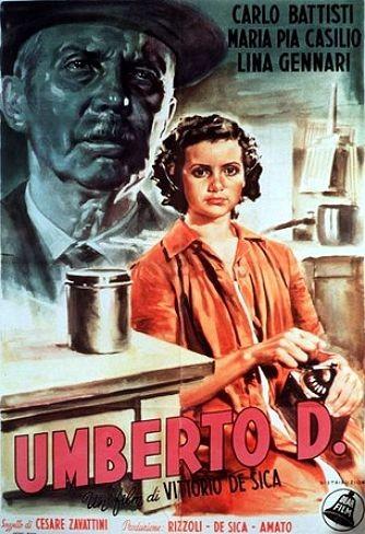 Umberto D. - locandina del film