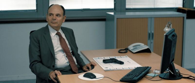 De bon matin: Jean-Pierre Darroussin in una scena del film