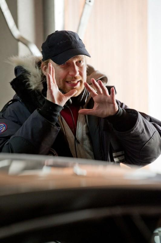 Headhunters: il regista Morten Tyldum sul set del film